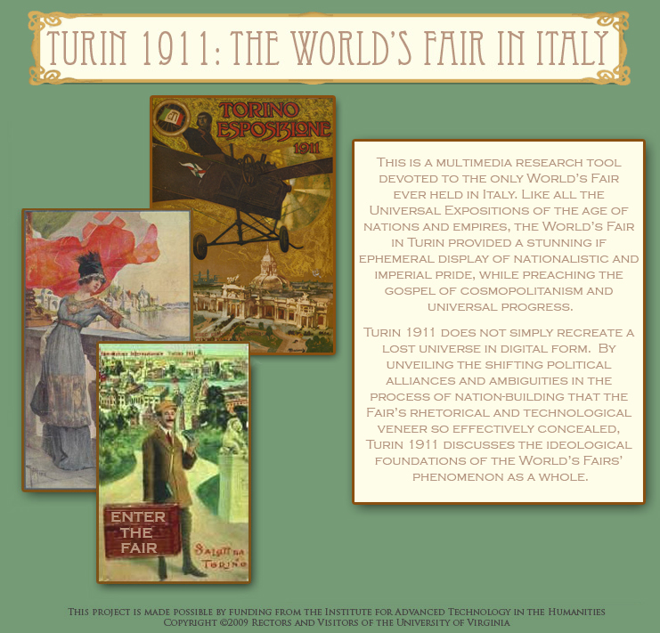 Turin 1911: The World's Fair in Italy